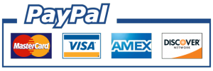 Payment Options: MasterCard, VISA, AMEX, DISCOVER
